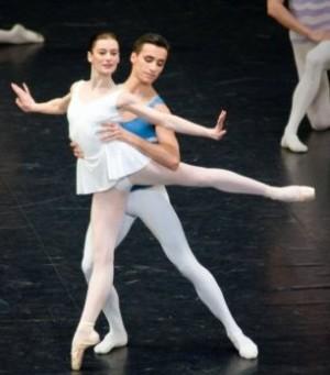En sol Aurélie Dupont et Sébastien Bertaud