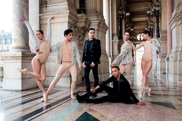 Paris Match, Sébastien Bertaud Olivier Rousteing et les solistes de l'Opéra